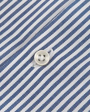 Camisa rayas azul-blanco