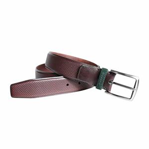 Cinturón marrón-verde