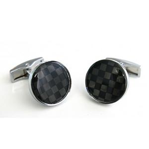 Gemelos círculo negro